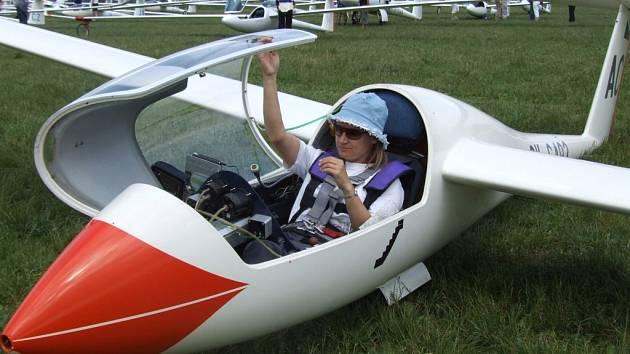 Dana Nováková z ústeckého Aeroklubu je nyní na desátém místě v klubové třídě