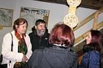Pozvání přijali i Zdenka a Martin Hochovi - paní Zdenka je vnučkou architekta rozhledny Hýlačky Theodora Petříka.