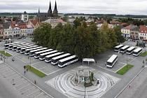 Iveco dodalo dopravní společnosti ICOM transport 17 autobusů Crossway.
