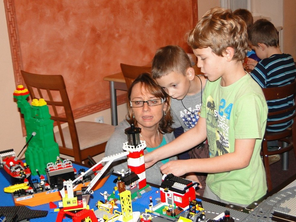 Legoprojekt ve Vysokém Mýtě.
