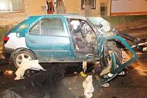 Smrtelná nehoda v Lanškrouně.