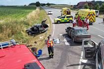 Tragická nehoda na Šedivci.