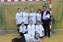 Fotbalistky z Lanškrouna, Albrechtic a Sázavy se spojily a na mezinárodním turnaji v Hlučíně skončily osmé