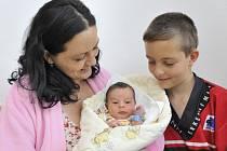 Adam Vrba je po Pavlovi druhým synem Jitky Hynkové a Luboše Vrby z Písečné u Žamberku. Na svět přišel 2. července v 19.33 s hmotností 3,26 kg.