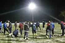 Ústečtí fotbalisté zahájili zimní přípravu.