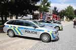Den s policií v ústeckém parku Kociánka.