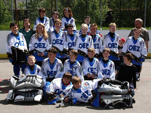 Letohradští mladší žáci dosáhli na mistrovství České republiky pátého místa