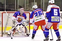 Otevřený hokejový trénink českotřebovských Kohoutů.