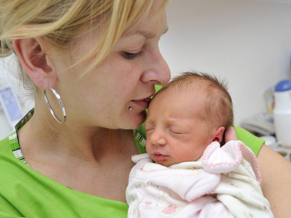 Nela Harapátová se narodila 25. listopadu v 19 hodin Lucii Ehlové a Zdeňku Harapátovi ze Žamberku. Na svět si přinesla 2,3 kg.