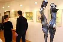 V Galerii pod radnicí v Ústí nad Orlicí byla zahájena výstava Jubilanti 2018.