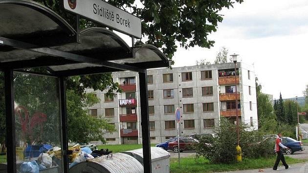 Sídliště Borek. Ilustrační foto.