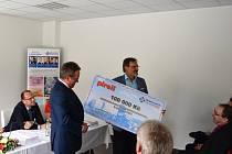 Na konto projektu jícnové echokardiografie přibylo dalších 100 tisíc korun.