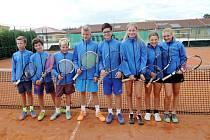 Družstvo žáků skončilo na mistrovství republiky desáté.