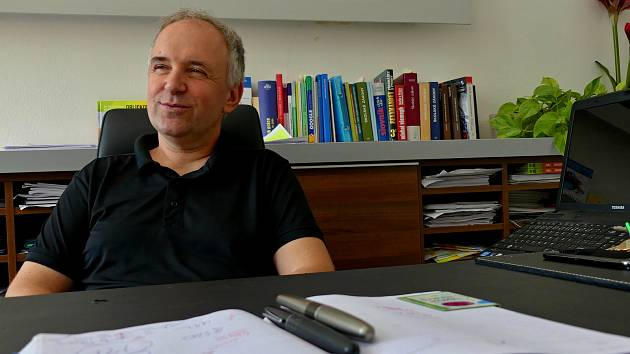 Ředitel Základní školy Bratří Čapků v Ústí nad Orlicí Mgr. Martin Falta.