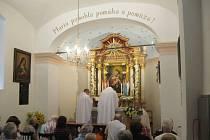 Oslavy 150. výročí Horákovy kaple u Dolní Dobrouče.