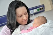 Charlotte Balcarová se narodila 22. 5. v 8.31 hodin. Vážila 4,190 kg a těší rodiče  Moniku Stránskou a Viléma Balcara z České Třebové.