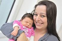 Malvína Bartošková, tak se jmenuje dcera Mariky Vítkové a Marka Bartoška z Ústí nad Orlicí. Narodila se 11. 2. v 13.18 hodin, vážila 3740 g a doma se na ni těší i sestřička Marika.