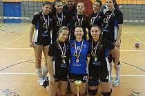 Českotřebovské juniorky vyhrály krajský přebor