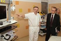 Z otevření novéhého oddělení Orlickoústecké nemocnice.
