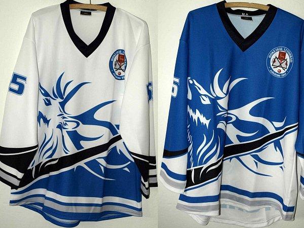 Zbrusu nové dresy letohradských hokejbalistů.