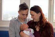 Gabriela Koukolová těší rodiče Žanetu a Petra z Líšnice. Narodila se 12. 3. v 15.53 hodin, kdy vážila 3,350 kg. Bráška se jmenuje Matyáš.