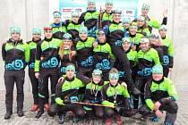 Úspěšný tým dorostu a juniorů KB Letohrad.