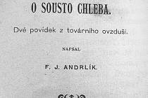 Kniha O sousto chleba.
