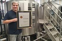 Výčepní pivo Splávek 10% získalo bronzové místo na mezinárodním festivalu.