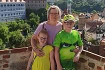 Marie s dětmi.