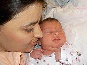 Eliška Ivánková je po Tomášovi a Štěpánovi první holčička Petry a Martina z Křenova. S váhou 3910 g přišla na svět dne 14. 12. v 4.41 hodin.J