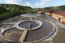 Modernizovaná čistírna odpadních vod v Letohradu.