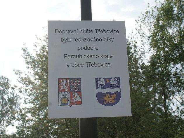 Ze slavnostního otevření Dopravního hřiště Třebovice.
