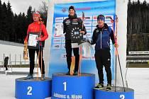 Český pohár v biatlonu v Jablonci nad Nisou.
