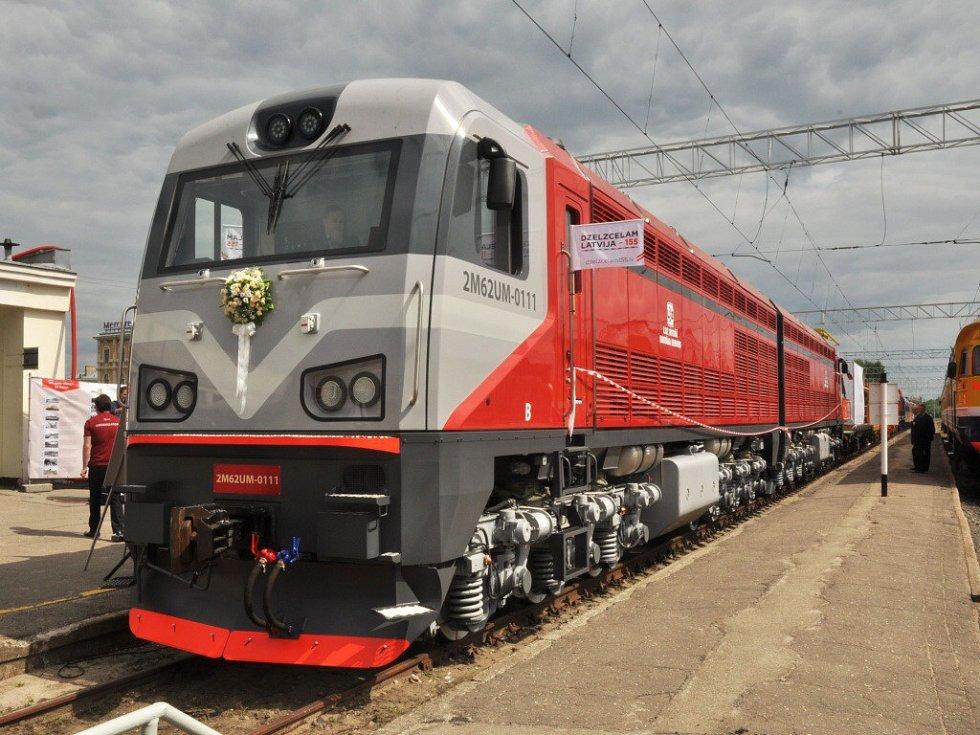 VLotyšsku vyjede první modernizované dvojče zCZ Loko.