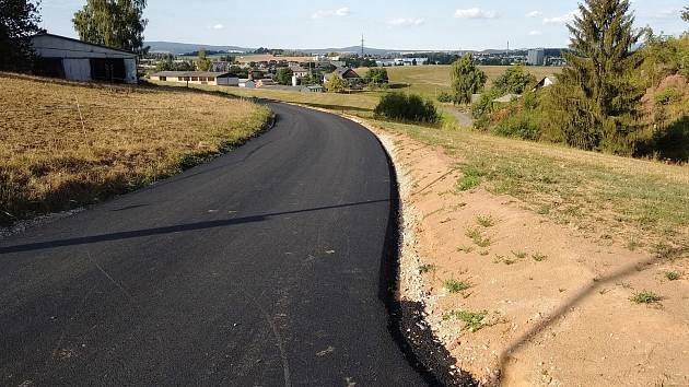 Nový asfaltový povrch
