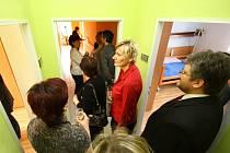Z otevření centra pro klienty s demencí v ústeckém domově důchodců.