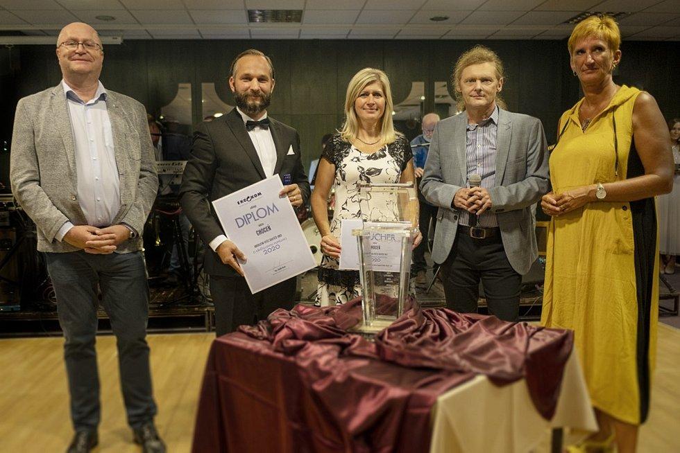 Choceň je nejlepší v Česku v třídění odpadu. Město získalo Křišťálovou popelnici