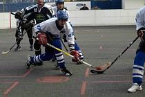 Snaha letohradským hokejbalistům proti Třinci nechyběla, ale přesná koncovka ano.