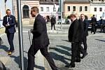 Prezident Miloš Zeman navštívil Letohrad.