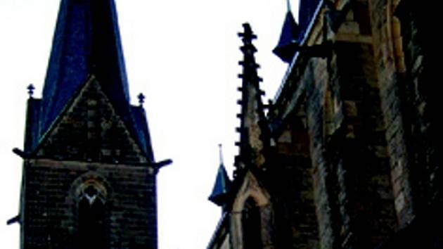 chrám ve Vysokém Mýtě