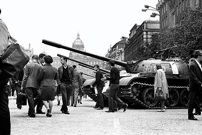 Události srpna 1968 objektivem Josefa Kuty.