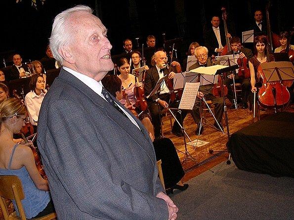 Do Ústí nad Orlicí přijel také Ivan Měrka, dlouholetý předseda poroty Heranovy violoncellové soutěže.
