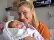 Dora Malá je prvním dítětem Magdalény a Jiřího z Nekoře. Na svět si 5. 9. ve 2.16 hodin přinesla porodní váhu 3,140 kg.