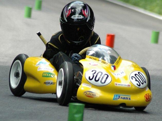 Michal voleský (M+T MK Ústí) dominoval v kategorii M3 jezdců do 16 let.