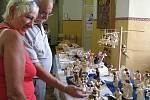 Řemesla zpracovávající dřevo přilákala do Žamberku množství návštěvníků. Nelitovali, bylo se na co dívat.