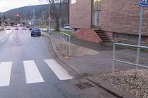 Policie hledá svědky střetu fabie s chodkyní, ke kterému došlo v pátek 4. ledna u hotelu Uno v Ústí nad Orlicí.