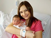 Karolína Volštátová je po Kristýnce druhá holčička Ivy a Michala ze Žamberka. Narodila se s váhou 3310 g dne 23. 12. v 1.12 hodin.