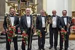 Kostel sv. Jakuba Většího v České Třebové ve čtvrtek 16. května rozezněl Prague Brass Ensemble – Pražský žesťový soubor.