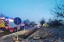 V úterý okolo 05.45 hodin došlo k dopravní nehodě na silnici I/14 mezi Ústím nad Orlicí a Českou Třebovou, u budovy IZS