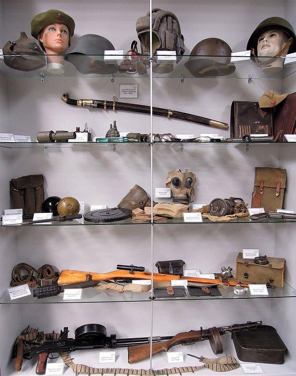 Výbava příslušníků Rudé armády (RKKA)Zdroj: Vojenské muzeum Králíky